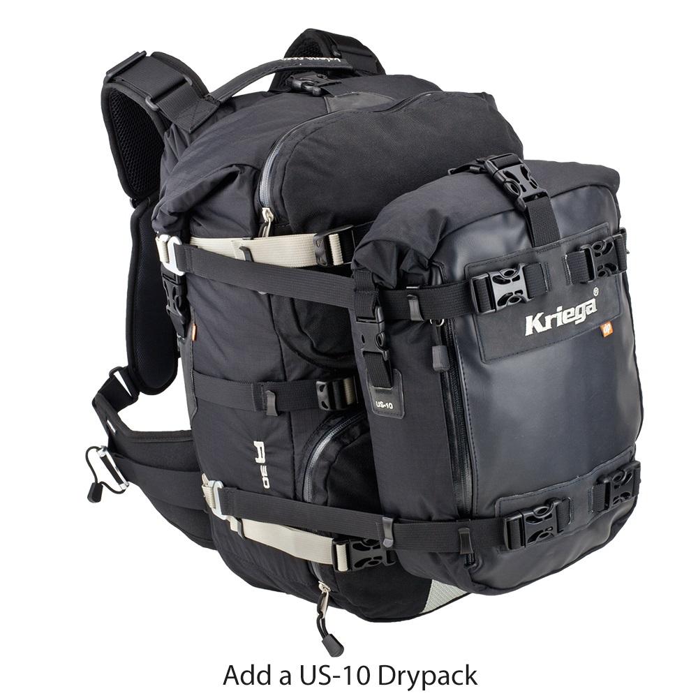 Kriega R30 vízhatlan motoros hátizsák komoly motoros kalandokhoz 4489fa8972